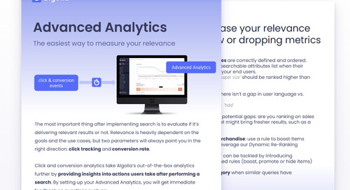 Advanced Analytics: The Easiest Way to Measure Your Relevance