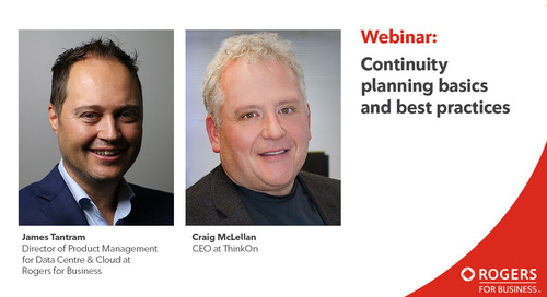 Webinar: Continuity planning basics and best practices