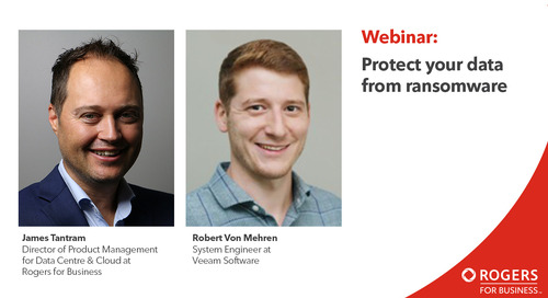 Webinar: Protect your data from ransomware