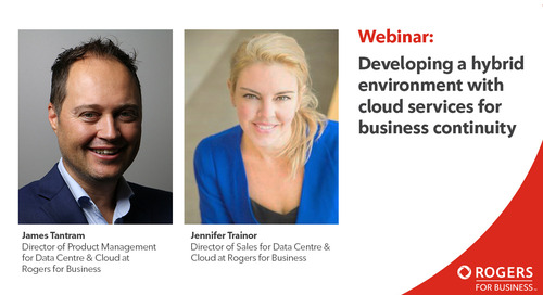Webinar: Developing a hybrid environment with cloud services for business continuity