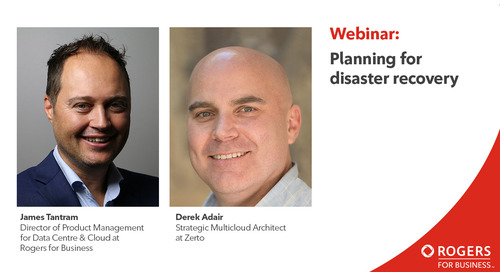 Webinar: Planning for disaster recovery