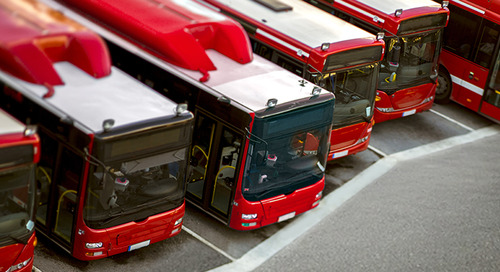 Public transit solutions with ISR Transit