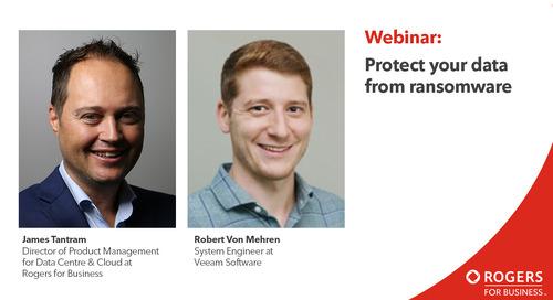 Webinaire : Protégez vos données des rançongiciels