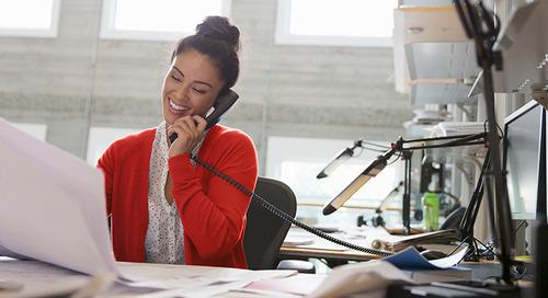 Vous utilisez toujours une ancienne solution de téléphonie avec un autocommutateur privé sur site? Rassemblez plutôt un grand nombre de vos