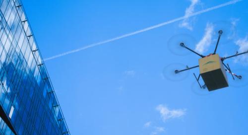 La livraison par drones prend son envol grâce à la fiabilité du réseau IdO
