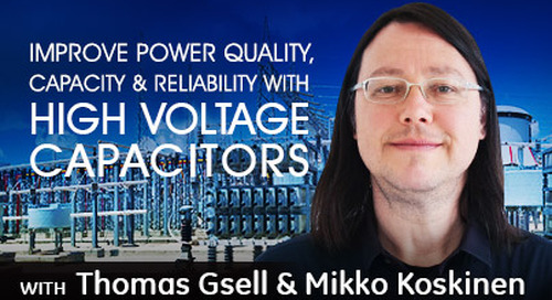 How to Size and Apply High Voltage Capacitors