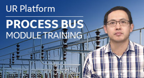 UR FW7.8 Process Bus Module Training