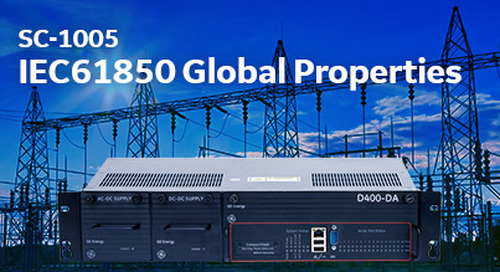 SC-1005 IEC61850 Global Properties