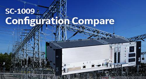 SC-1009 Configuration Compare