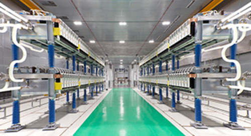 HVDC Valve Testing Facility in Stafford, UK
