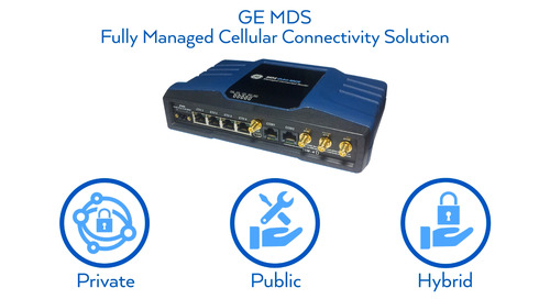 GE MDS Fully Managed LTE Connectivity Solutions