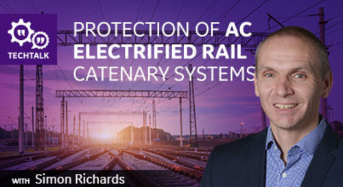 Protection of AC Electrified Rail Catenary Systems
