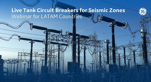 Live Tank Circuit Breakers for Seismic Zones