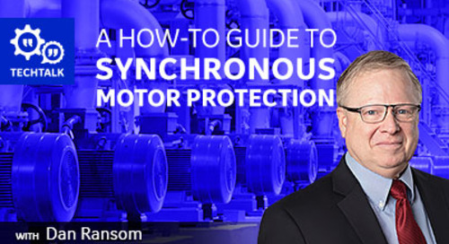 A How-to Guide to Synchronous Motor Protection