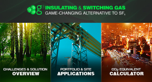 SF₆-free Solutions: g³ Insulating & Switching Gas