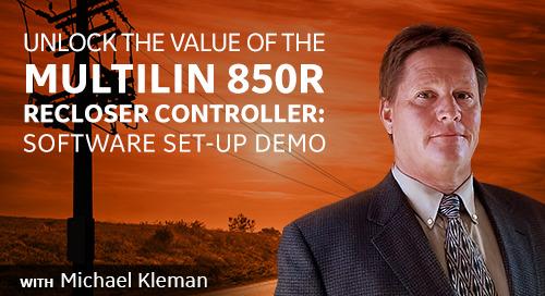 Multilin 850R Set Up Software Demo