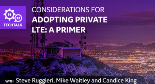 Considerations for Adopting Private LTE: A Primer