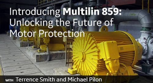 Introducing Multilin 859: Unlocking the Future of Motor Protection