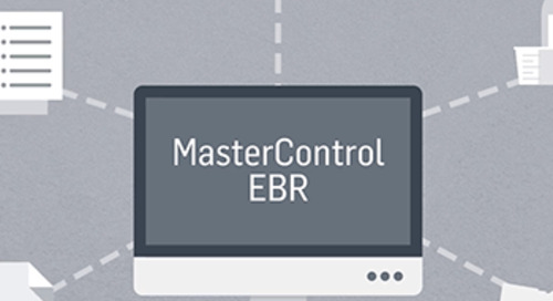 MasterControl Manufacturing Excellence: An EBR Solution to Manufacturing Quality