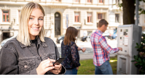 "SMS PARK |""The Telavox app makes life easier"""