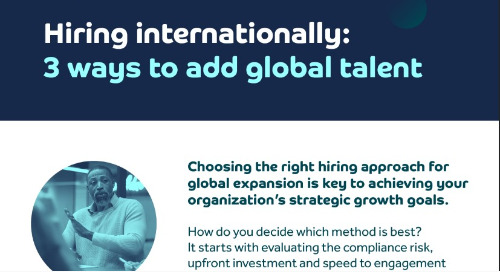 Hiring internationally: 3 ways to add global talent