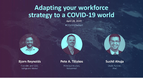 Adapting your workforce strategy to a COVID-19 world