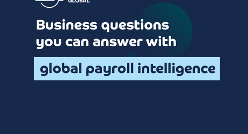 Business questions you can answer with global payroll intelligence