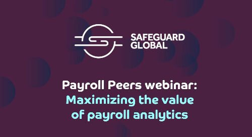 Maximizing the value of payroll analytics