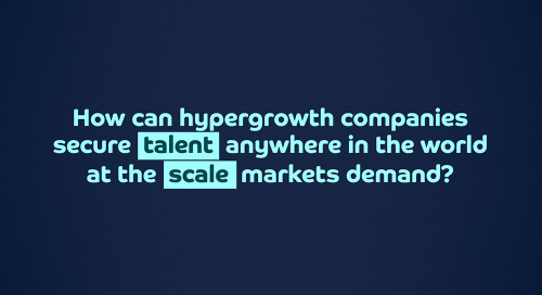 Scalable global hiring for hypergrowth companies