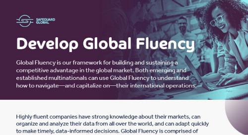 Developing Global Fluency