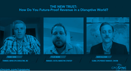 The New Trust: How Do You Future-Proof Revenue In a Disruptive World