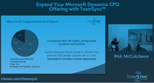 Webinar: Expand Your Microsoft Dynamics CPQ Offering with TeamSync Ft. Rick McCutcheon