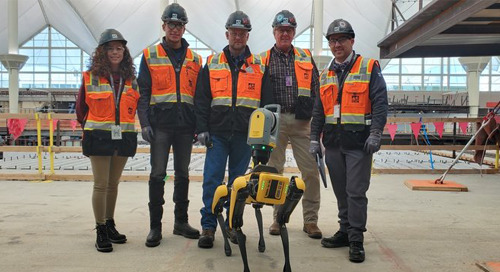 Construction Dive: Hensel Phelps employs autonomous robot 'dog' at Denver Airport project