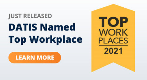 DATIS HR Cloud Recognized as a Top Workplace