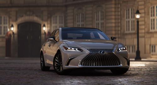 Lexus drives next-gen virtual productions with Unity