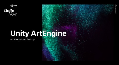 Introducing Unity ArtEngine