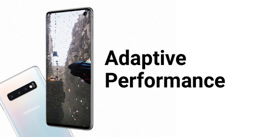 Higher fidelity and smoother frame rates with Adaptive Performance