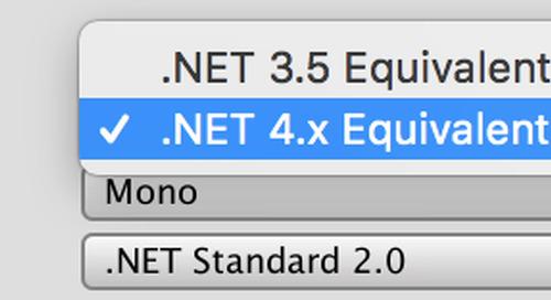 .NET 4.x scripting runtime