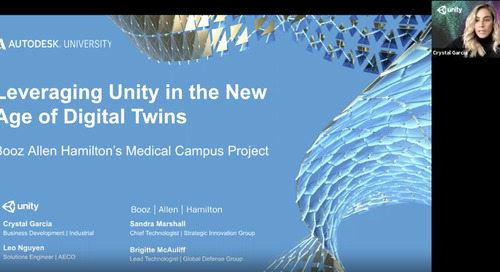 Leveraging Unity in the New Age of Digital Twins: Booz Allen Hamilton's Campus Project