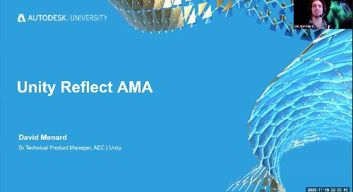 Unity Reflect AMA