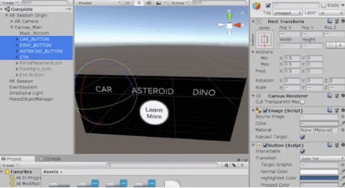 Interactive UI Menus Part 1
