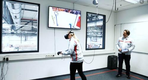 Industrial VR training