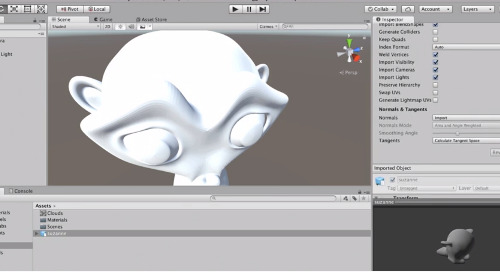 Importing Assets To Unity