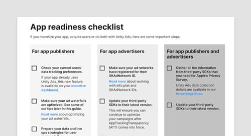 App readiness checklist
