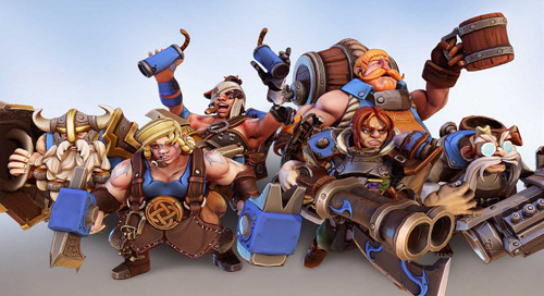 Dwarfheim comes to life with Unity and Multiplayer Services