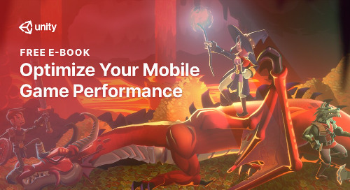 52-page e-book on Mobile Game Performance is now available
