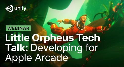 Little Orpheus: How The Chinese Room developed their first Apple Arcade title with Unity
