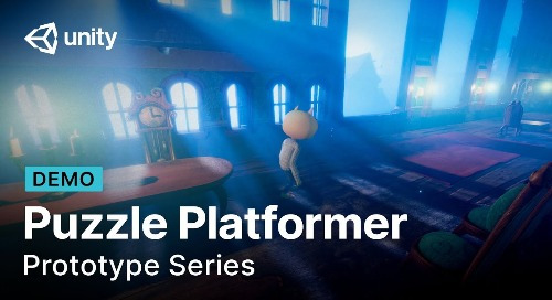 Prototype a puzzle platform in Unity using Bolt and the High Definition Render Pipeline