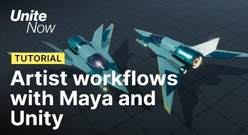 Artist workflows with Maya and Unity