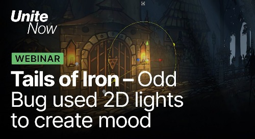How Odd Bug used 2D lights to set the mood in Tails of Iron